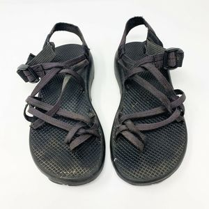Chacos Vibram ZX2 Black Classic Strap Sandals